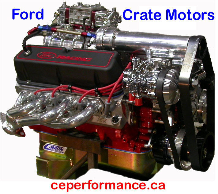 Crate Engine Performance high performance V8 engine... click on image for a larger engine photo
